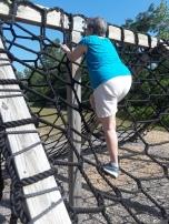 Mary on Cargo Climb